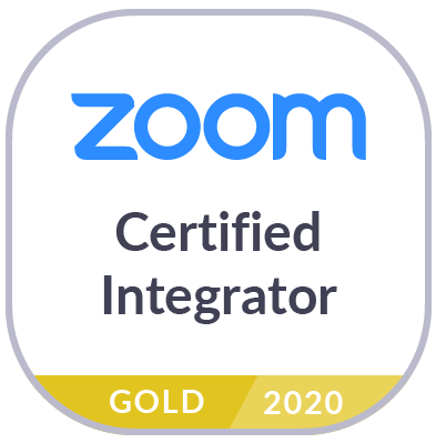 Zoom Certified Integrator Logo